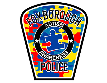 Police patch graphic.